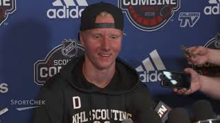 COMBINE | Rasmus Dahlin after fitness testing