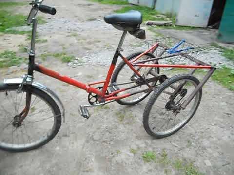 [Трёхколёсный велосипед своими руками для зимы]