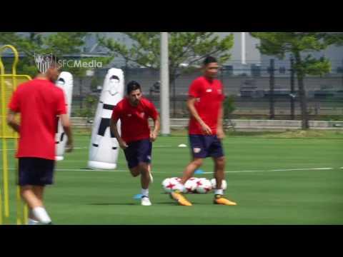 Entrenamiento Sevilla Futbol Club 19-07-17
