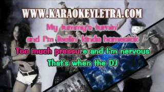miley cyrus - party in the usa karaoke