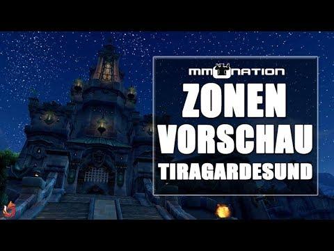 WoW Battle for Azeroth Zonenvorschau - Die Landschaft von Tiragardesund (Kul Tiras)