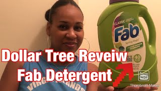 Dollar Tree FAB DETERGENT Review