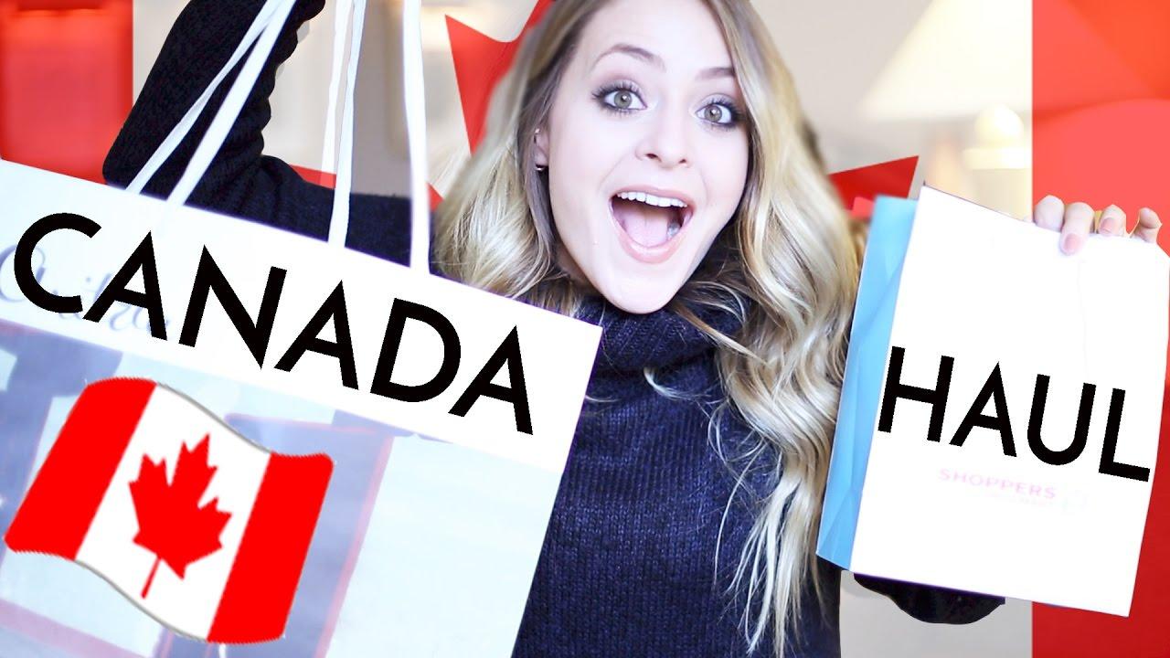 Real-Time CANADA HAUL: Beauty & Fashion! | Fleur De Force