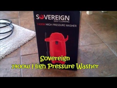 Sovereign 1400w HIgh  Pressure Washer