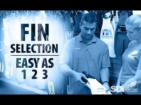 Mask, Snorkel & Fins | Fin Selection: Easy as 1-2-3
