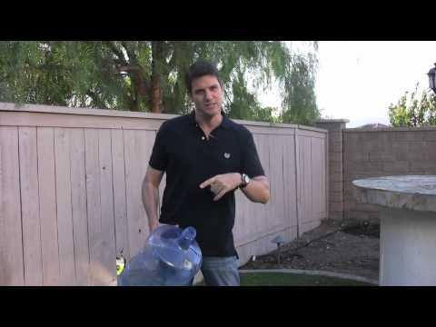 Watering Your Home Garden with Fresh Ocean Water!