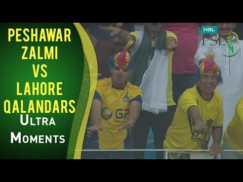 PSL 2017 Match 16: Peshawar Zalmi vs Lahore Qalandars - Ultra Motion Moments