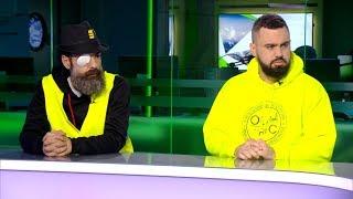 Gilets jaunes : Eric Drouet et Jérôme Rodrigues en direct sur le plateau de RT France
