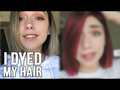 I DYED MY HAIR!