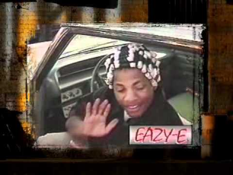 Eazy-E - Rare Interview On Studio Gangsters In Compton, Cali