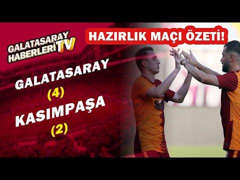 Galatasaray 4-2 Kasımpaşa / Geniş Maç Özeti (Hazırlık Maçı)