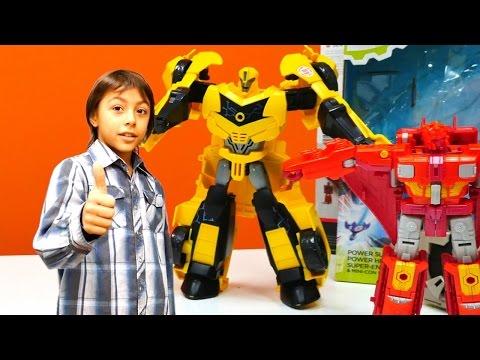 Transformers Galvatron'un açılışı....