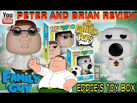 funko pop griffin  Funko Pop! Family Guy: Peter Griffin and Brian Review! - YouTube