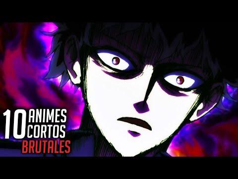 TOP 10 - Animes CORTOS Mas EPICOS - Animes De Accion Y Pelea #2