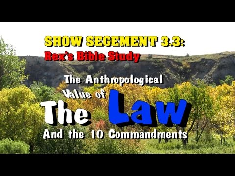 The REAL Value of God's Law and the 10 Commandments ~ Rex Reviews PODCAST