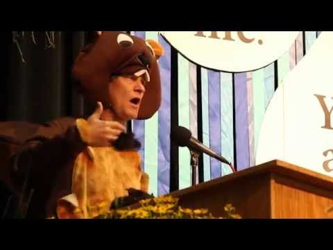 Buster Beaver Ripples the World - Daily Acts/OAEC WATER Institute