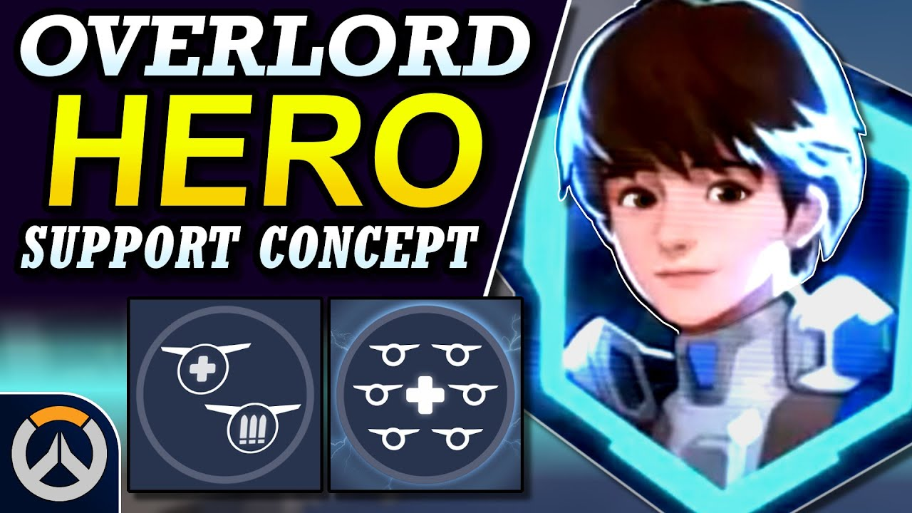 Download Overwatch - New Hero OVERLORD Support Concept | Abilities & Full Hero Kit