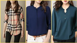 Beautiful Stylish Shirts & Top Designs With Jeans For Women's