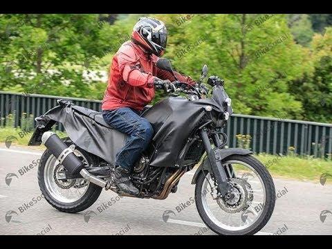 &#;Xế phượt&#; Yamaha Tenere  bị bắt gặp trên phố
