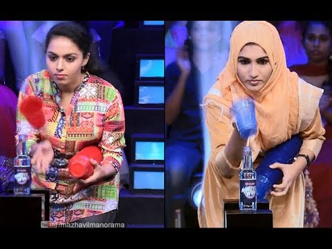 Minute to win it | Ep 25 - Two friends, holding their confidence | Mazhavil Manorama