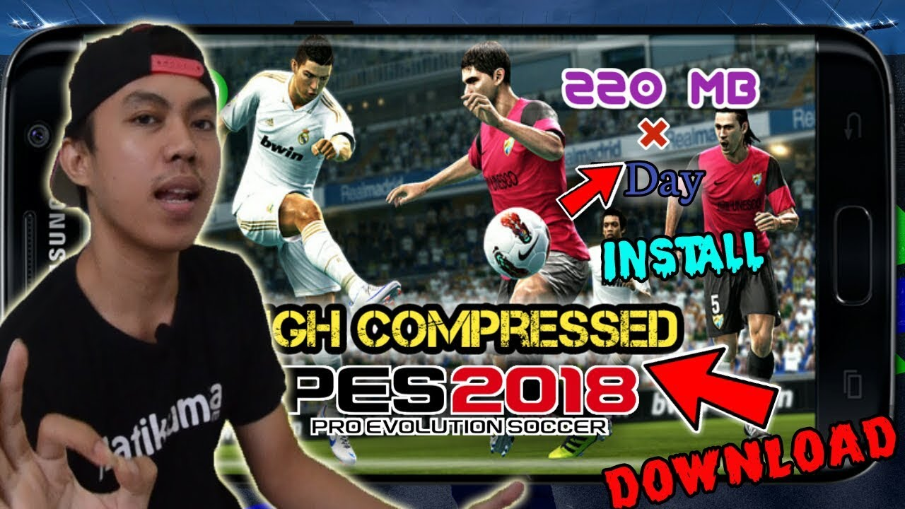 Cara Instal PES 2018 V2.2.0 di Android FULL Data + APK  #Smartphone #Android