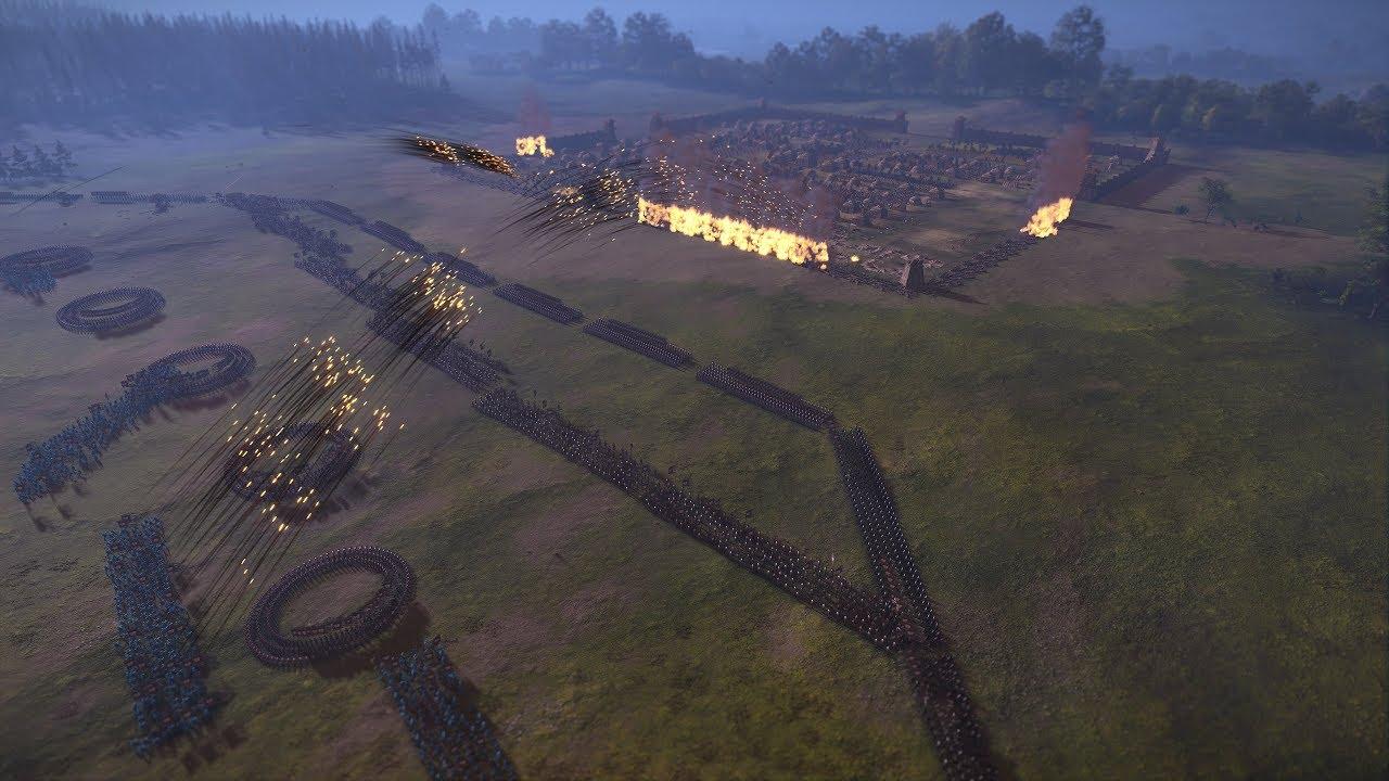 MASSIVE ENCAMPMENT ATTACK - Total War: THREE KINGDOMS
