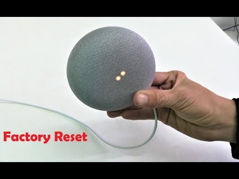 How To Completely Factory Reset Google Home Mini Easy Youtube