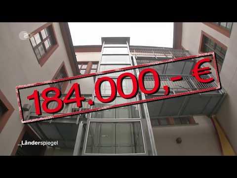 ZDF Länderspiegel - Ärger um Aufzug in Stendal