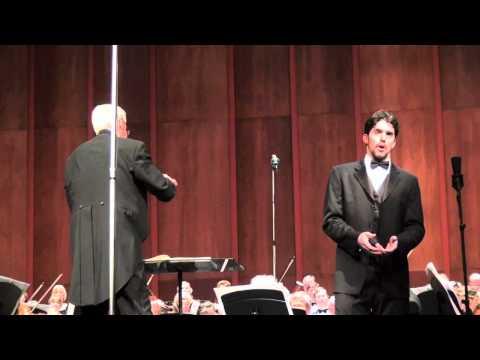 """Lord God of Abraham,"" from Mendelssohn's Elijah (Alex Lawrence, Baritone)"