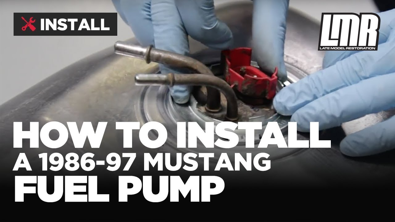 small resolution of mustang fuel pump install bbk fuel pump 255 lph 86 97