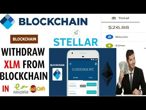 How To Withdraw From Blockchain Stellar XLM In Pakistan(Jazzcash, Bank Transfer )full Detail | Hindi
