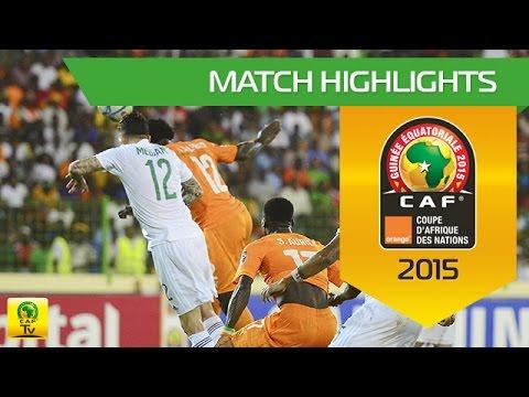 Côte d'Ivoire - Algeria | CAN Orange 2015 | 01.02.2015