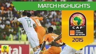 Côte d'Ivoire - Algeria   CAN Orange 2015   01.02.2015