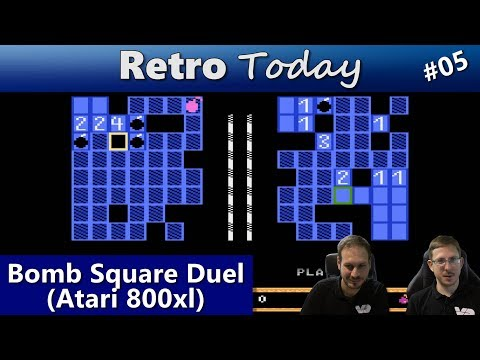 RetroToday #05: Bomb Square Duel (Atari 800xl)