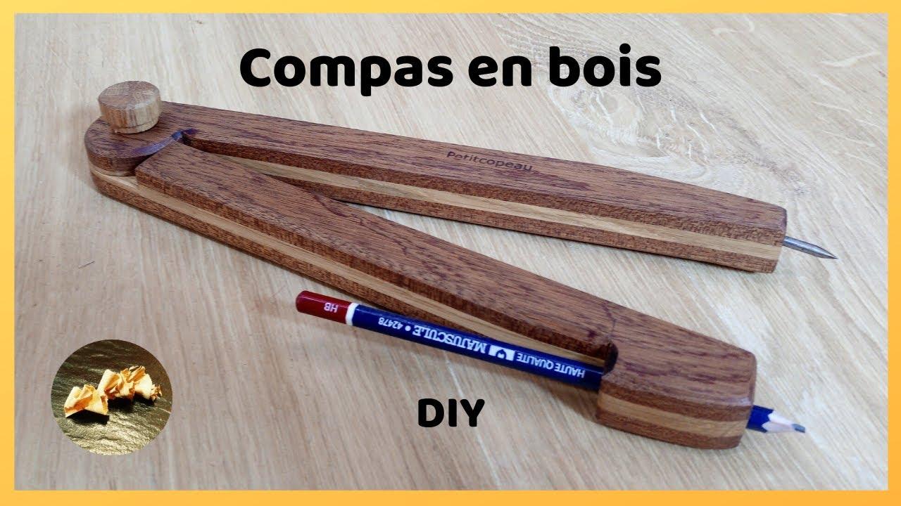 Comment Fabriquer Un Mobile En Bois compas bois diy