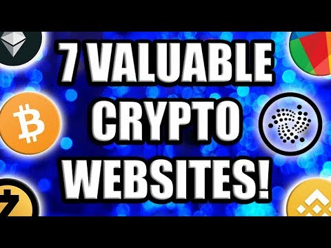 7 Valuable Crypto Websites YOU Need To Know About!      [Bitcoin/Altcoin.Crypotcurrency]
