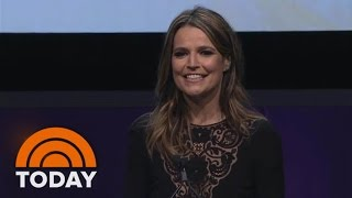 Savannah Guthrie Receives Matrix Award: 'This Is How You Rise And Shine' | TODAY