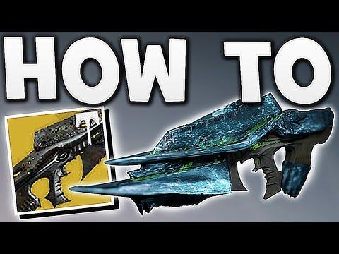 Destiny - HOW TO GET THE NEW NECROCHASM !!