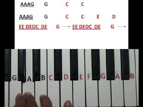 Ne Ne Nani Ne Eega Song Learn On Keyboard Part 1 Youtube