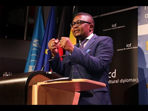 Walter Mzembi (Minister of Tourism and Hospitality Industry