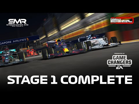 Formula 1: Singapore Grand Prix 2020 Stage 1 Complete