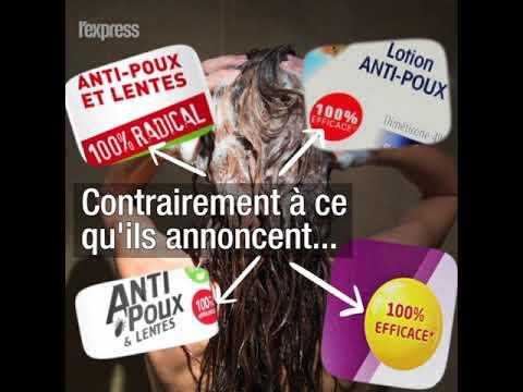 Les deux tiers des produits anti-poux seraient inefficaces