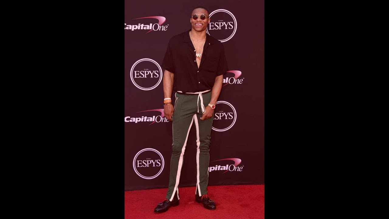 Russell Westbrook and Simone Biles win athlete of year honors at ESPYS