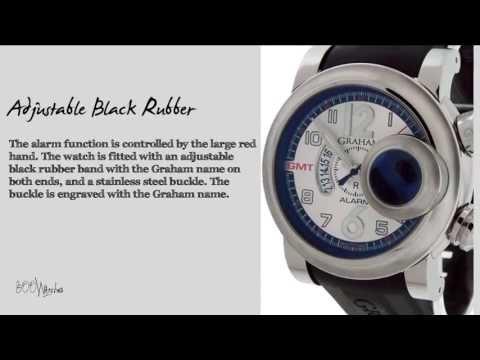Graham Swordfish GMT Alarm Model 618 Watch