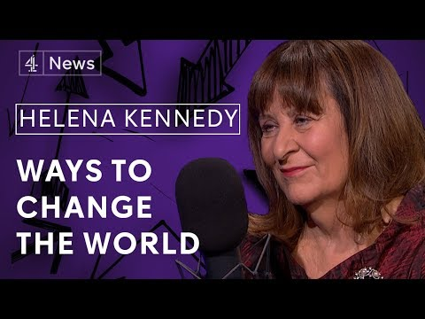 Helena Kennedy QC on changing the justice system, her working class roots and debating what's right