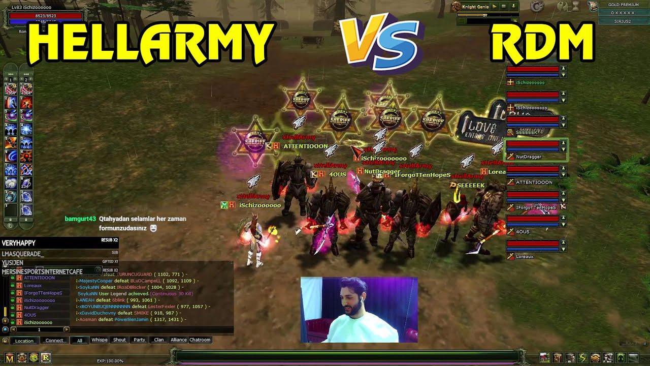 Download Knight Online VS   HELLARMY VS RDM     CZ   PK