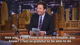 jimmy fallon pays tearful tribute to his late mother in tonight show return