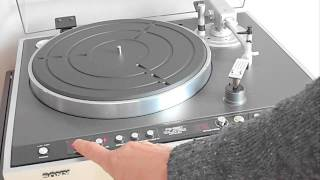 Sony Biotracers. Sony PS-B80 Biotracer turntable