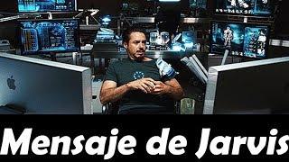 Mensaje de bienvenida al encender la PC (Sistema Jarvis)