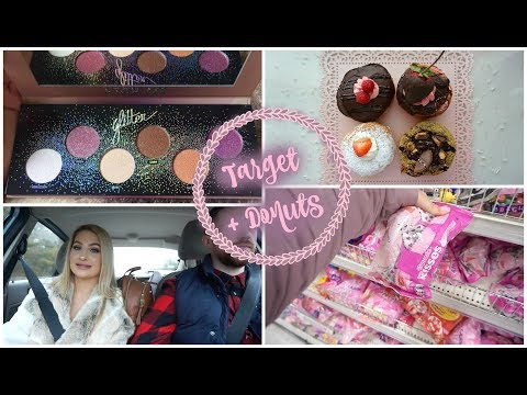 Vlog: TARGET SHOP WITH ME + MORE DONUTS